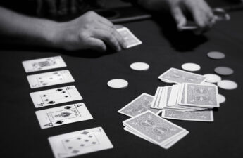 Texas Hold'em Tournament - Playing Heads-Up Takes Nerve, Skill And Bluff